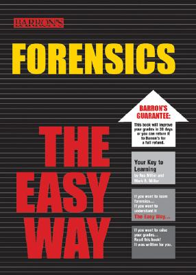 Barron's Forensics the Easy Way By Trimm, Harold H., Ph.D.